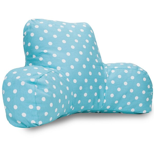 Telly 100% Cotton Bed Rest Pillow by Viv + Rae